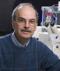 Leslie Loew, director of the Richard D. Berlin Center for Cell Analysis and Modeling at the UConn Health Center on February 27, 2008. (Lanny Nagler for UConn Health Center)