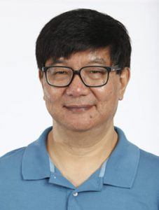 Formal portrait of Yijun Ruan of The Jackson Laboratory for Genomic Medicine (JAX GM):: located in Farmington:: Connecticut (CT):: against a white background.