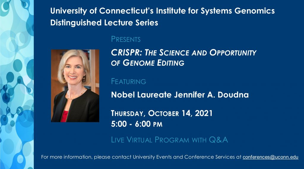 Doudna Lecture_Oct 14 2021